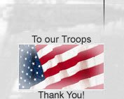 To our Troops. Thank You