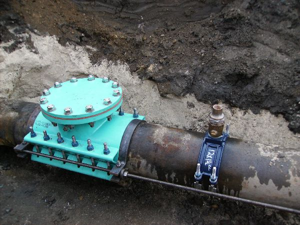 Pro tapping pipe freezing video image gallery proview